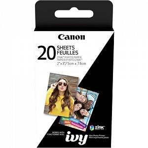 Canon Zink Photo Paper 2x3 - 20 Sheets