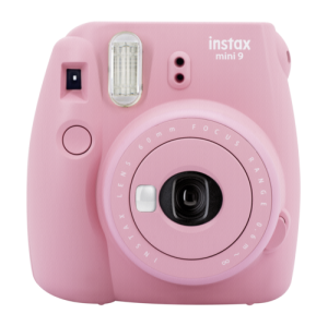 Fujifilm Instax mini 9 rose incl. 10 Shot Film Pack