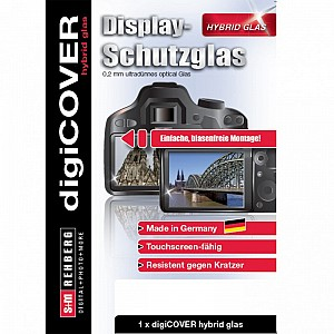 DigiCover Hybrid Glass Display Cover Canon EOS M6 Mark II