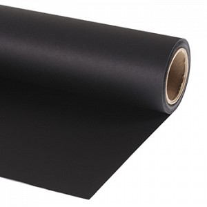 Lastolite Background Paper Black 9120