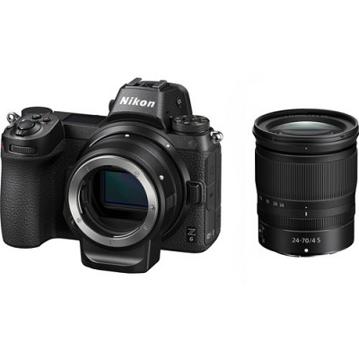 Nikon Z6 Kit 24-70mm f/4S with FTZ mount adapter