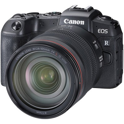 Canon EOS RP Kit RF 24-105mm f/4L IS USM + Adapter EF-EOS R