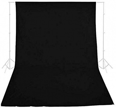 E-Image Background Cloth 3x5m Black