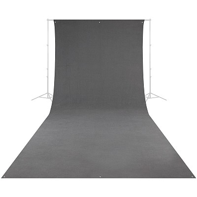 E-Image Background Cloth 3x5m Grey