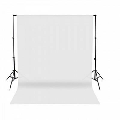 E-Image Background Cloth 3x5m White