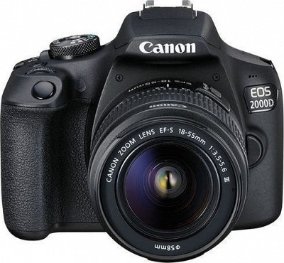 Canon EOS 2000D Kit EF-S 18-55mm DC III