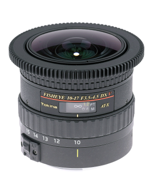 Tokina AT-X 10-17mm f/3.5-4.5 DX NH Fisheye Canon EF Video