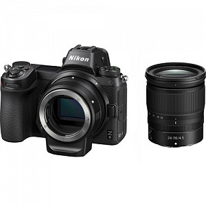 Nikon Z6 Kit 24-70mm f/4S with FTZ mount adapter + Δώρο XQD 64GB