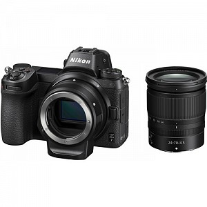 Nikon Z7 Kit 24-70mm f/4S with FTZ mount adapter + Δώρο XQD 64GB