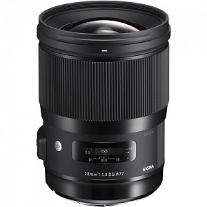 Sigma 28mm f/1.4 DG HSM Art Sony E-mount