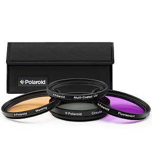 Polaroid Filter kit UV/CPL/FLD/Warming filters 58mm