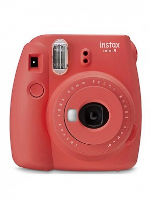 Fujifilm instax mini 9 poppy red incl. 10 Shot Film Pack