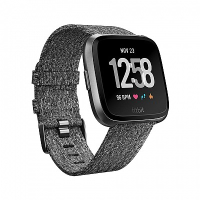 Fitbit Versa Special Edition dark gray/graphite